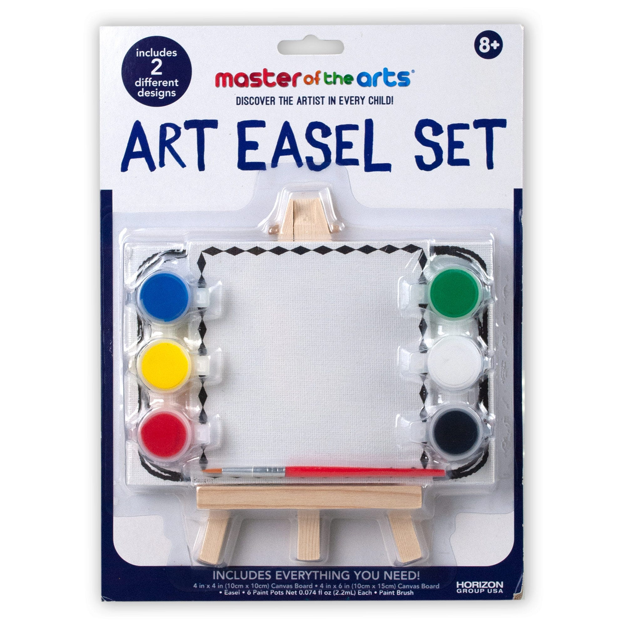 Canvas Painting Kit- Qty 18