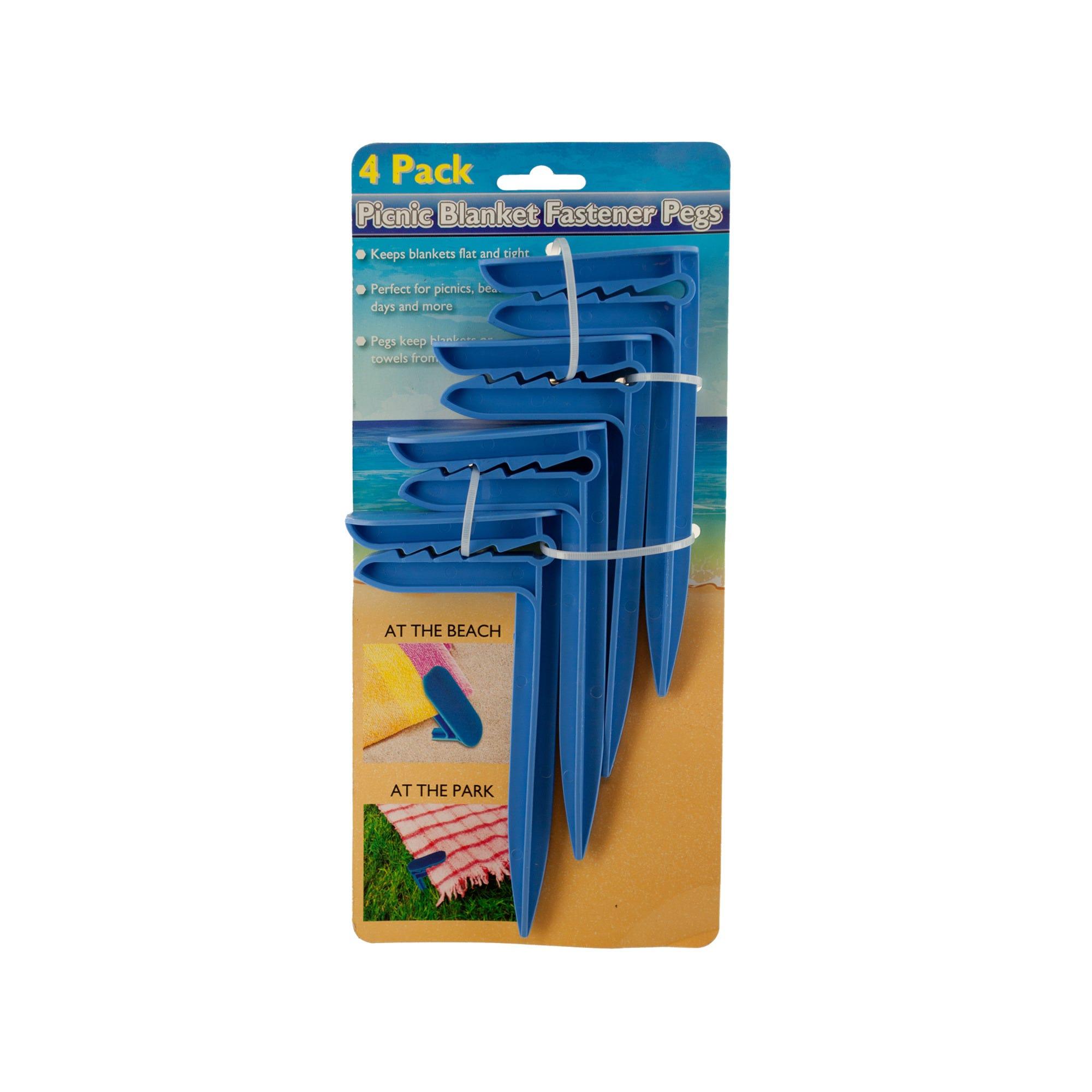 Picnic Blanket Fastener Pegs Set- Qty 18