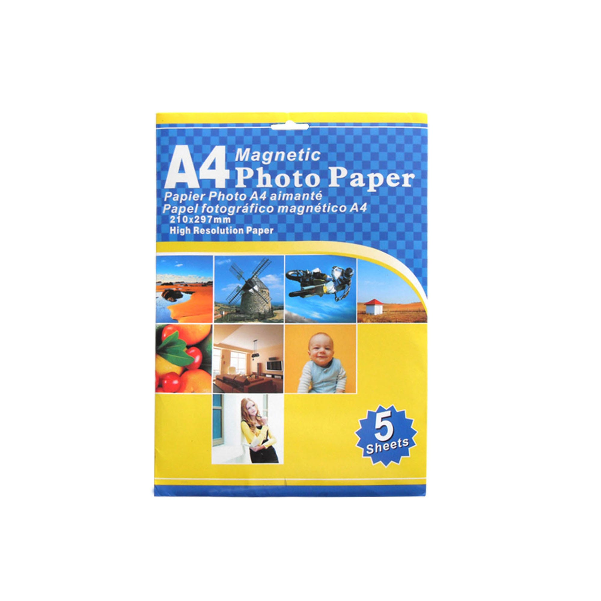 Magnetic Photo Paper- Qty 18