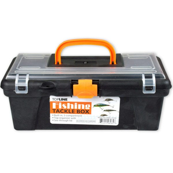 FISHING TACKLE Box- Qty 4